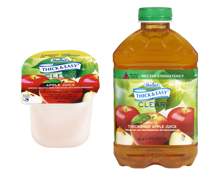 Hormel Health Labs Thick and Easy Thickened Apple Juice