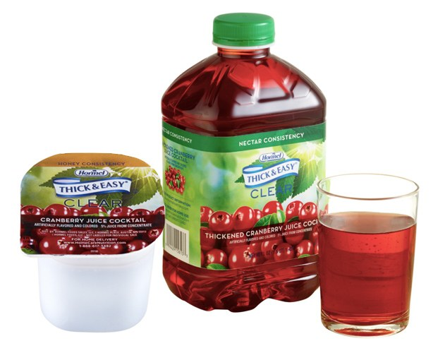 Hormel Health Labs Thick and Easy Thickened Cranberry Juice Cocktail