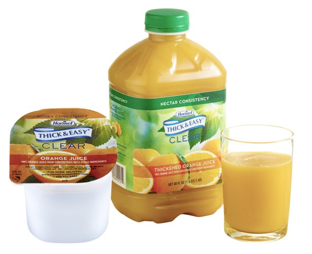 Thick and Easy Thickened Orange Juice