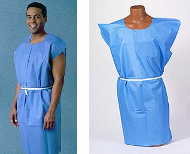 TIDI Products TIDI Patient Gown