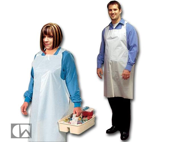 TIDI Products TIDI White Disposable Tattoo Apron