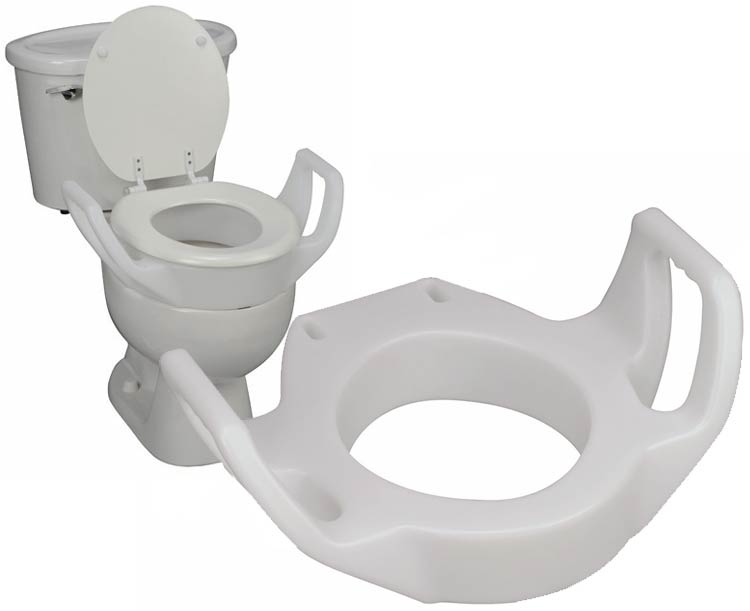 Standard Toilet Seat Riser with Arms