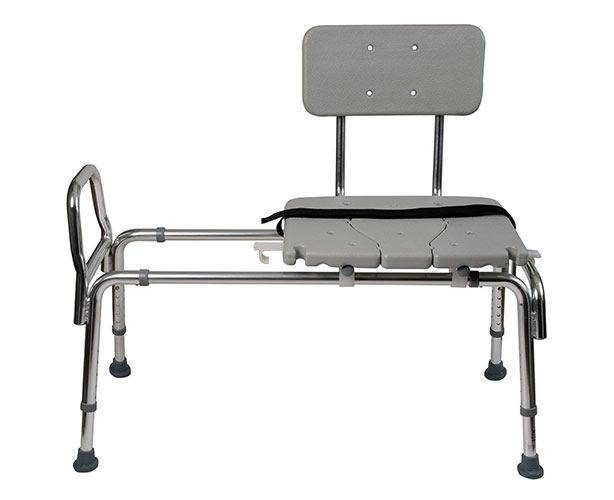 Heavy Duty Sliding Transfer Bench