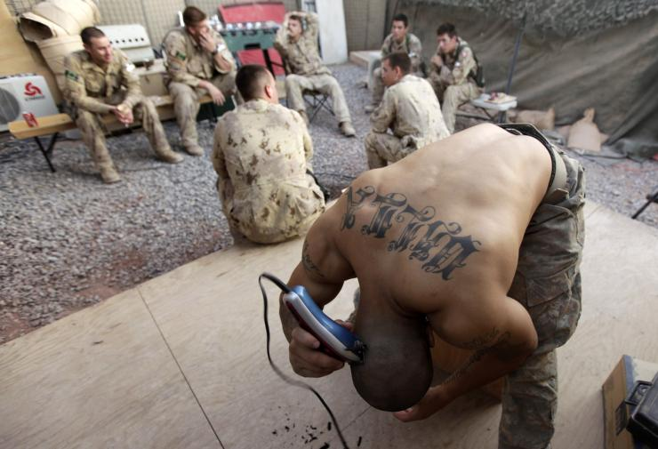 Tattoos in the US Army
