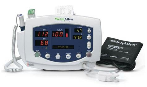 Welch Allyn Welch Allyn Vital Signs Monitor 300 with Nellcor SpO2,